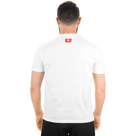 Cube Logo 2.0 T-Shirt Herr white'n'red